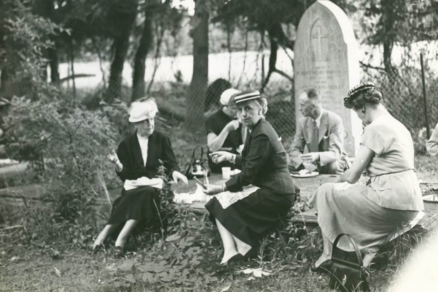 Funeral tea party